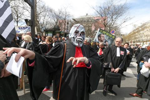 Justice Morte Paris protests April 2018